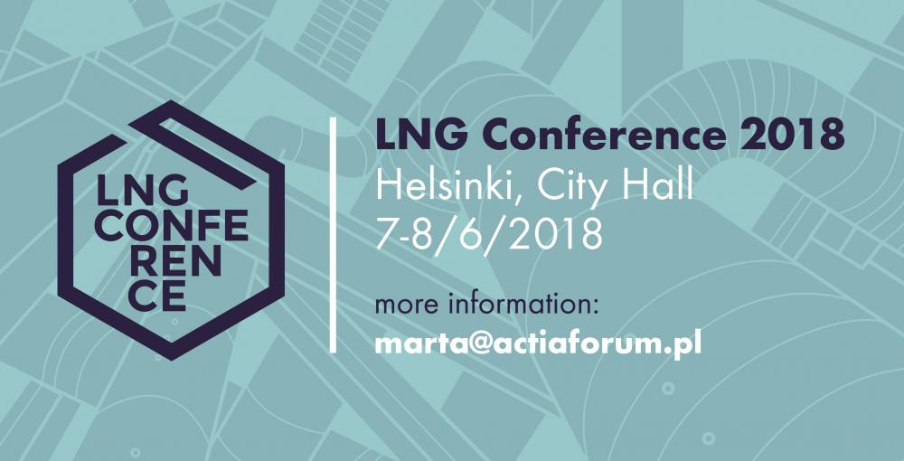 LNG 2018 conference in Helsinki