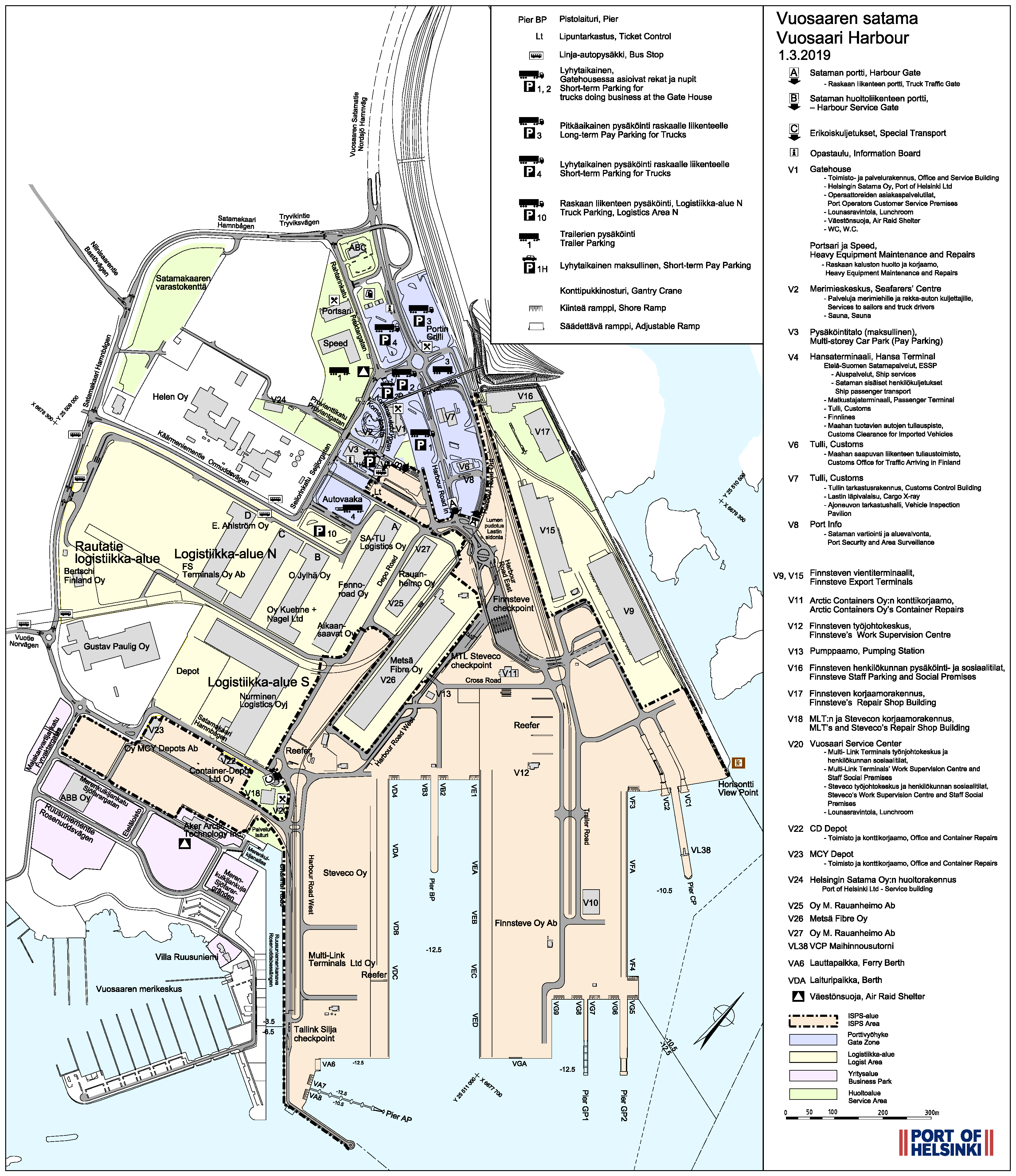 Technical Maps   Port of Helsinki on map explorer, map police, map zoom,