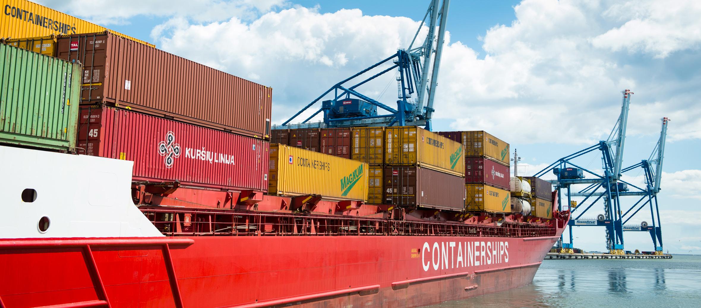 Vienti kääntyi voimakkaaseen kasvuun | Port of Helsinki