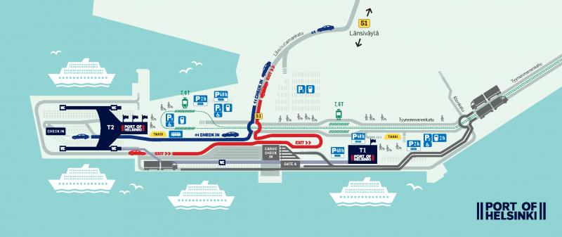 Pysäköintikartta Helsinki