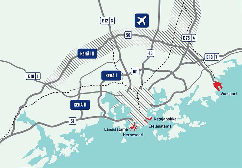 Yhteystiedot Ja Kartat Port Of Helsinki