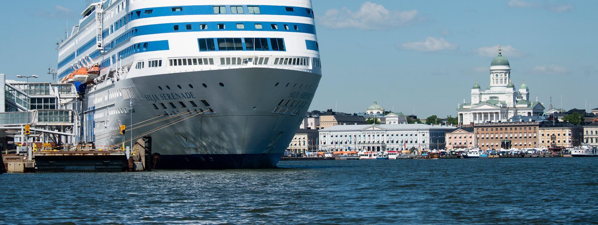 Makasiiniterminaali Port Of Helsinki