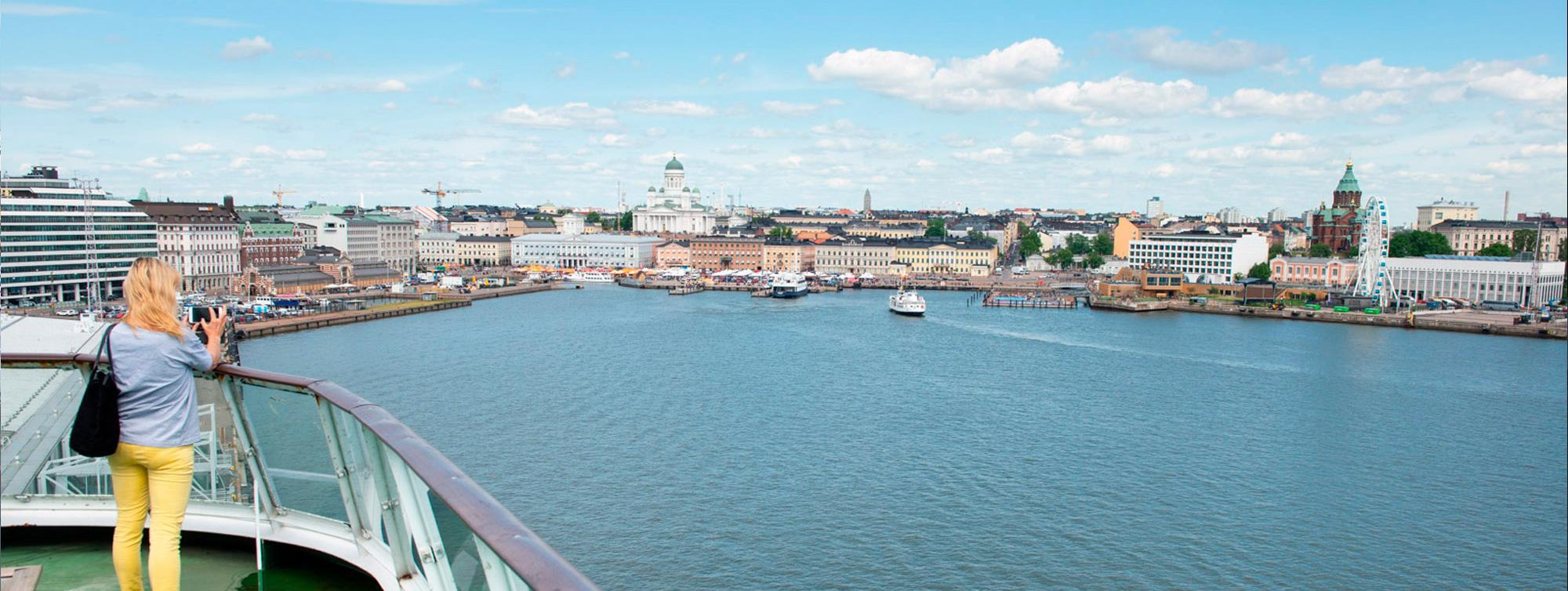 Matkustajaliikenne Port Of Helsinki